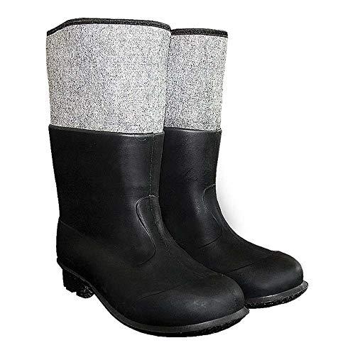 Równosc BF-PCVCZ43 Pvc-vilten schoenen, zwart, 43 maten