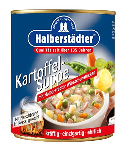 Halberstädter Kartoffel-Suppe, 1er Pack (1 x 800 g)