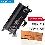 Kingsener A32N1511 A32LM9H Laptop Batterie Pour ASUS ROG G752 G752V G752VT G752VY G752VL G752VM...