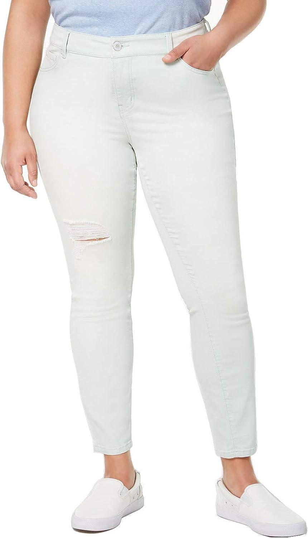 超人気 在庫一掃 専門店 Celebrity Pink Womens Plus Denim Jeans 18 Colored Blue