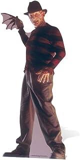 Galletas Cut Outs Freddy Krueger Life Size Cartón Cut out, Negro