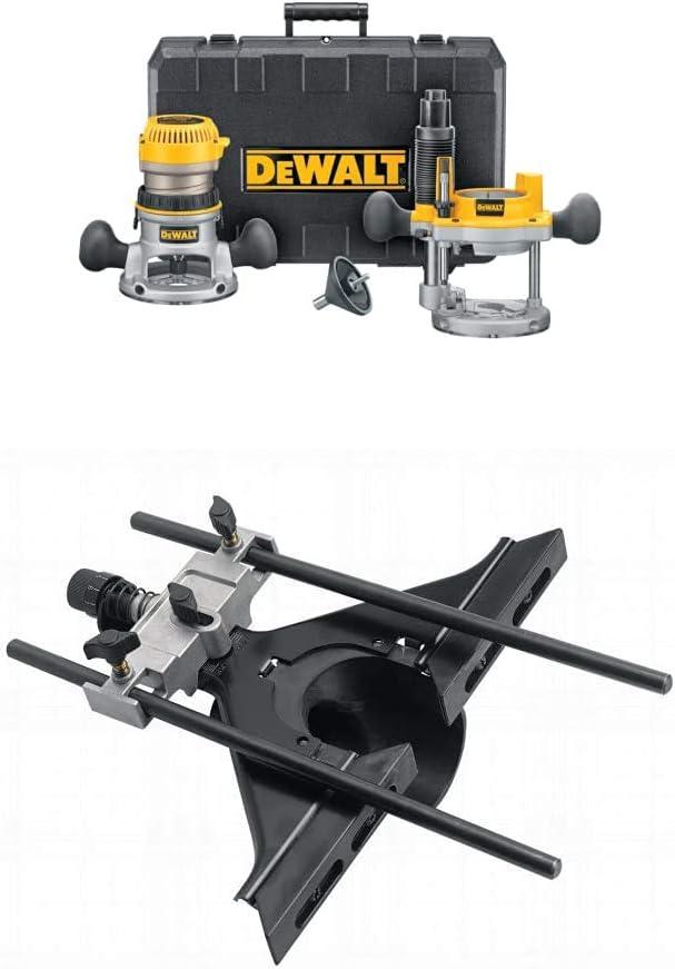 DEWALT DW616PK 1-3 4 Horsepower 購入 タイムセール Fixed Router K Combo Base Plunge