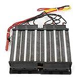 Calentador de aire PTC, elemento calefactor de calentador de aire de tipo aislado, con temperatura constante automática para aire acondicionado, instrumento de calentador(220V1500W)