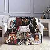 Gudenice Vampire Diaries Polyester Blanket Ultra-Soft Throw Bed Blanket 50'X40'