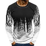 JiaMeng Suéter de Hombre Invierno Manga Larga Suéter Casual Jersey de Punto Caliente Camiseta...