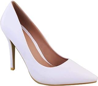 Amazon.co.uk: White - Court Shoes