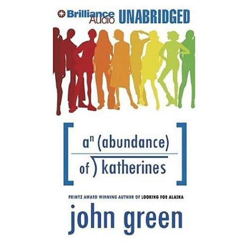 An Abundance of Katherines audiobook cover art