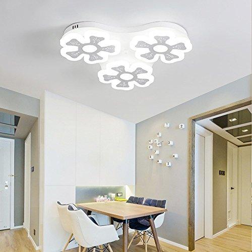5151BuyWorld Led-plafondlamp, modern licht, voor kinderkamer, slaapkamer, Candeeiro, plafondlamp, bloem, plafondlamp, LED, woonkamerverlichting, hoogwaardige kwaliteit