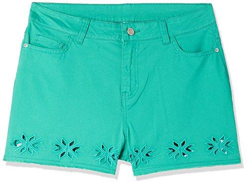 DJ&C by fbb Women's Shorts (1000863894010_Sea Green_28)