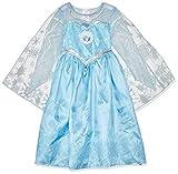 """Costume di Carnevale da bambina Versione """"DELUXE"""" che include anche il mantello """"luccicante"""" oltre al vestito (scarpine NON incluse) 100% Originale Rubie's con licenza ufficiale Disney"""
