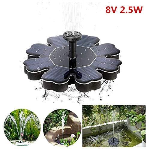 Solar Brunnenpumpe, Garten Blütenblatt Brunnen Wasserpumpe, Draussen Schwimmend Unterwasser Brunnenpumpe, Für Pool, Teich, Aquarium