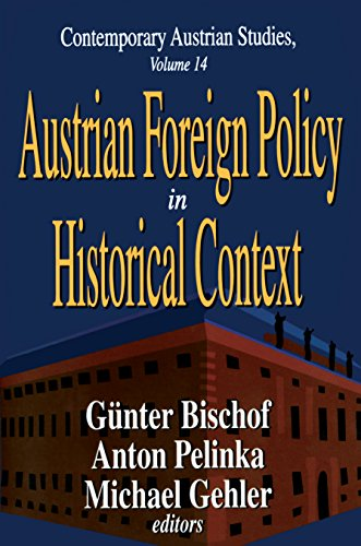 Austrian Foreign Policy in Historical Context (Contemporary Austrian Studies Book