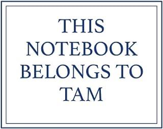 This Notebook Belongs to Tam