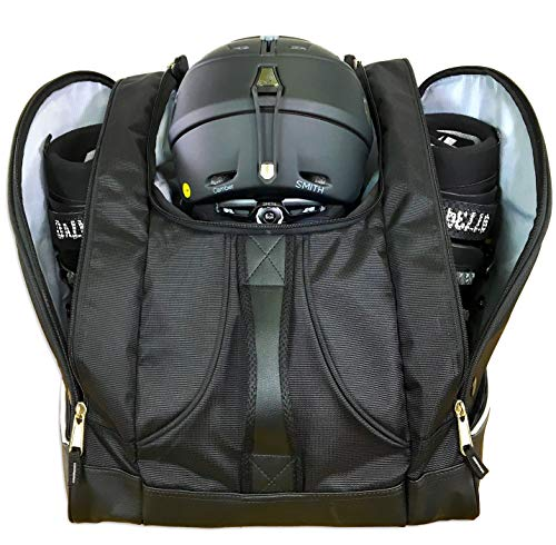 StoreYourBoard Ski and Snowboard Boot Bag, Travel Backpack, Holds Helmets, Boots, Gloves, Jackets,...