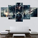 Impresión en lienzo de alta calidad One Set 5 piezas Movie Venom Deadly Guardian Painting para la sala de estar moderna Wall Artwork decorativo(NO Frame size 1)