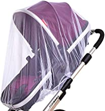 2 Pack Baby Mosquito Net for Strollers Carriers Car Seats Cradles, Portable Durable &..