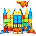 Magnet Toys Kids Magnetic Building Tiles 100 Pcs 3D Magnetic Blocks Preschool Building Sets Educational Toys for Toddlers Boys and Girls. by TUOXIANG