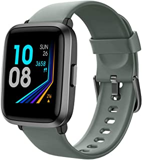 Smart Watch 2020 Ver. Watches for Men Women Fitness Tracker Blood Pressure Monitor Blood Oxygen Meter Heart Rate Monitor IP68 Waterproof, Smartwatch Compatible with iPhone Samsung Android Phones