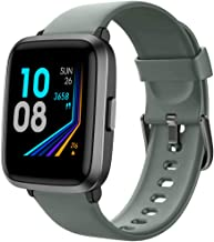 YAMAY Smart Watch 2020 Ver. Watches for Men Women Fitness Tracker Blood Pressure Monitor Blood Oxygen Meter Heart Rate Mon...