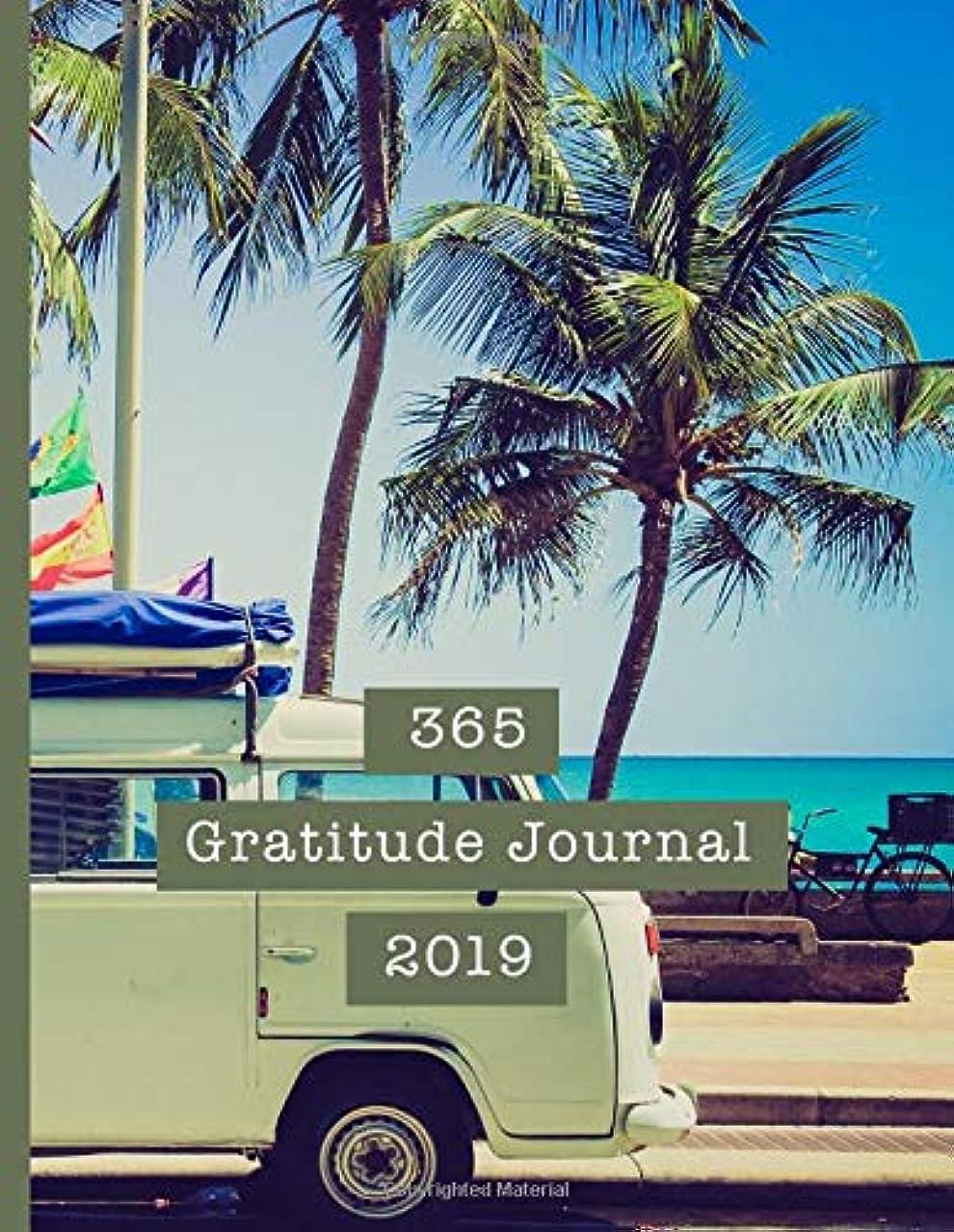 親密な日記スティーブンソン365 Gratitude Journal 2019: A Gratitude and affirmation planning diary for organisation and positivity - Camper van