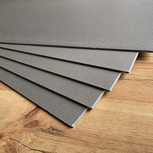 5-200 m² Trittschalldämmung Dämmung 5mm XPS Grau Boden Laminat Parkett Fußboden (10m²)