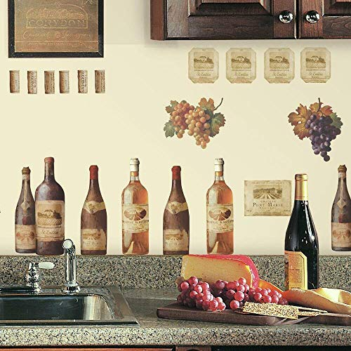 Wine Peel and Stick Wall Decals