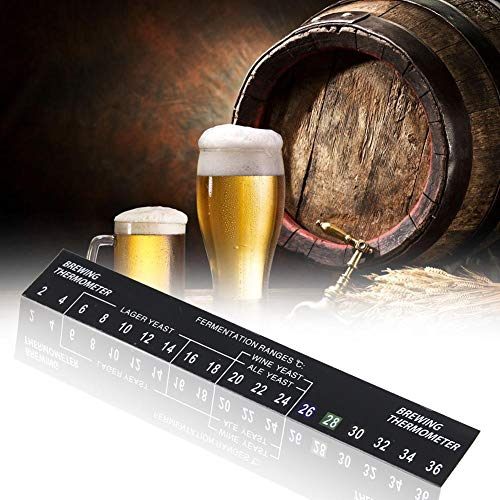 Thermometer Strip - 5 stks Stick op Brewing Thermometer Lijm LCD Thermometer Sticker voor Homebrew Bier