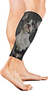 Little Brown French Bulldog Calf Compression Sleeve Leg Compression Socks For Shin Splint Calf Pain Relief Men Women And Runners Improves Circulation Recovery