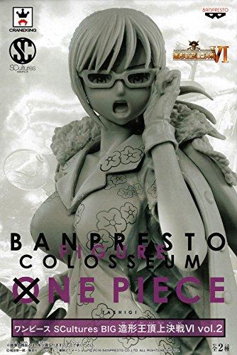 One Piece Tashigi Figure, Scultures BIG Banpresto Figure Colosseum Ⅵ Vol.2 - Original No Coloring Ver.