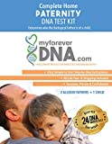 My Forever DNA - Paternity DNA Test Kit (2 Alleged Fathers + 1 Child) Includes All Lab Fees & Shipping to Lab 24 DNA (Genetic) Marker Test Accurate Results in 1-3 Business Days…