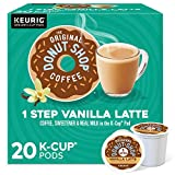 The Original Donut Shop Vanilla Latte, Single-Serve Keurig K-Cup Pods, Flavored Coffee, 20 Count