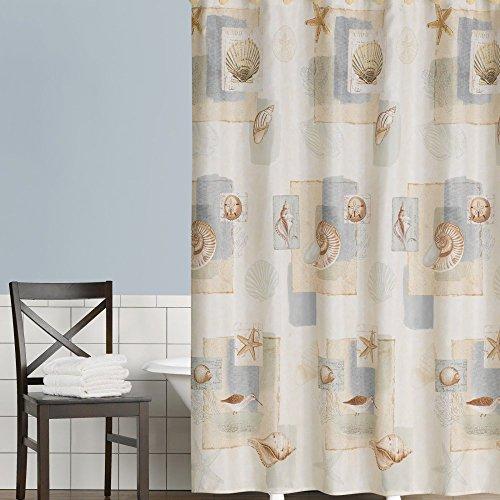 SKL HOME by Saturday Knight Ltd. Bayside Shower Curtain, Neutral