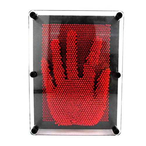 Epaynetwork 3D Kloon Speelgoed, Pin Art Sculptuur Naald Stereo Hand Model Board Home Office Desktop Speelgoed Kids Gift