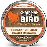 Chairman of the Bird Gourmet Turkey Rub - Classic Restaurant Herb Seasoning Spice Blend - Smoke, Brine, Roast, Grill - All Natural, Gluten Free, No Salt, No MSG, Madison Park Foods, 2 Ounce Tin