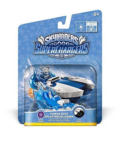 Skylanders: SuperChargers - Splatter Splasher Blue Deco (Vehicle)