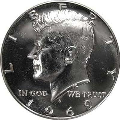 1969 S SILVER Gem Proof Kennedy Half Dollar US Coin
