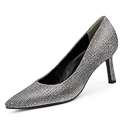 Paul Green 3757 Damen Pumps Silber, EU 39