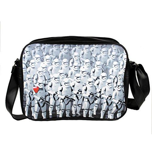 Star Wars , Sac pour homme à porter à l'épaule Blanc blanc Taille unique