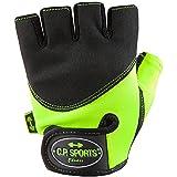 C.P. Sports® Iron Guanto di comfort giallo fluo, XL