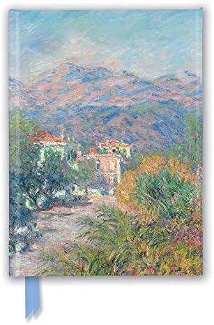 Claude Monet Roman Road at Bordighera Foiled Journal Flame Tree Notebooks product image