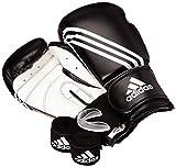 adidas Boxing Set Basic Juego de Boxeo, Unisex Adulto, Negro, estándar