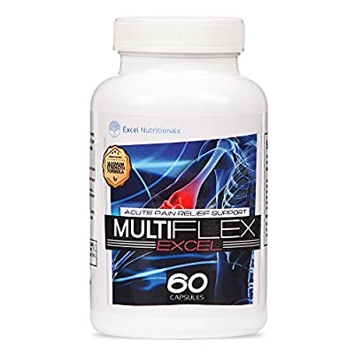 Multiflex: Joint Supplement - Supports Joint Pain Relief & Health with Curcumin (Turmeric), White Willow Bark and Boswellia Extract. from Phi Naturals