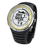 Docooler Reloj Deportivo al Aire Libre Altímetro Brújula Cronógrafo Barómetro Podómetro Impermeable Pesca Multifunción
