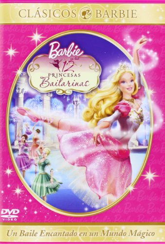 Barbie 12 Princesas bailarinas [DVD]