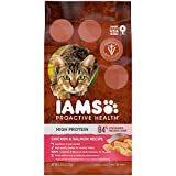 IAMS PROACTIVE HEALTH High Protein Adult Dry Cat Food with Chicken & Salmon Cat...