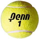 Penn Tribute Tennis Balls - All Courts Felt Pressurized Tennis Ball, 6 Cans, 18 Balls