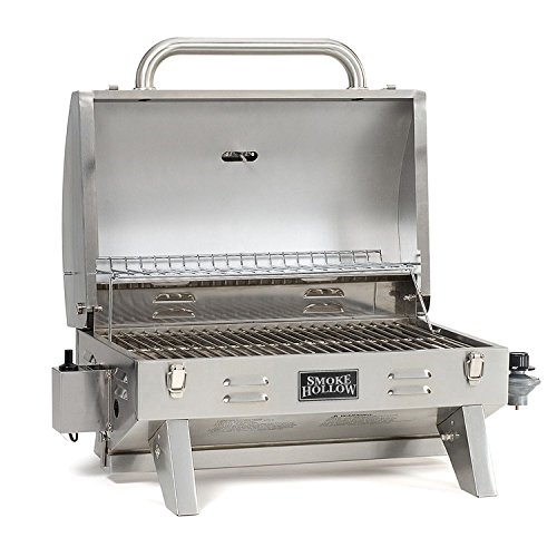 Nature Republic Smoke Hollow Stainless Steel Outdoor Tailgate & Portable BBQ Propane Gas Grill