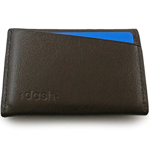 Premium Mens Slim Wallet By DASH - Vegan Card Wallet, Small Compact Front Pocket Design