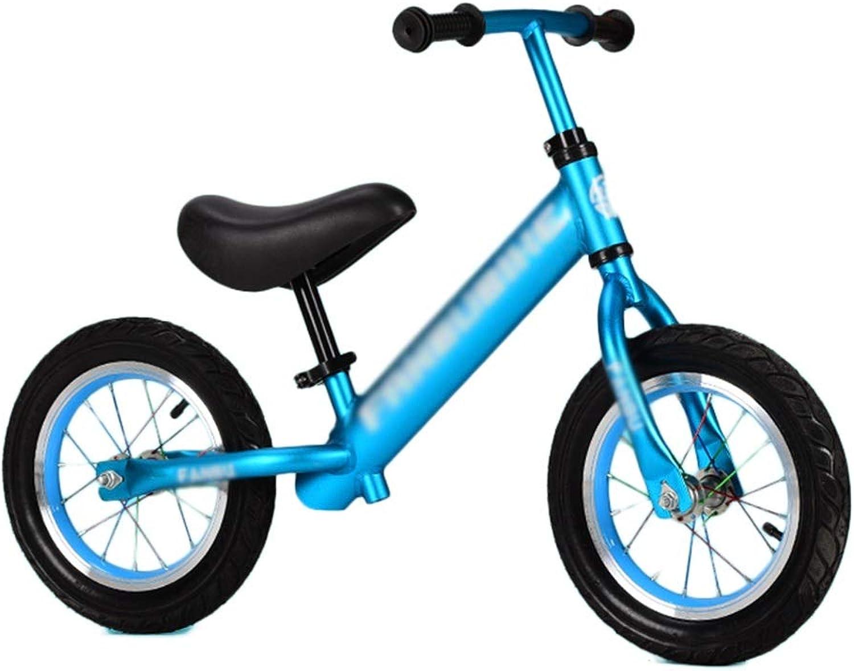 suministramos lo mejor Bicicleta Senior Balance para Niños Niños Niños de 1,5 a 6 años   La Mejor Bicicleta Deportiva de Aluminio para Niños y niñas, con Manillar Ajustable, sin Pedal (Color   Azul, Tamaño   Style2)  con 60% de descuento