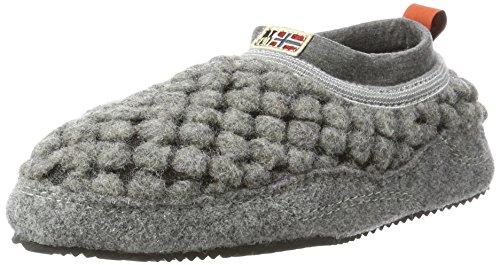 Napapijri Footwear Damen Misan Hausschuhe, Grau (Iron Grey), 41 EU